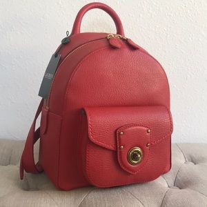 NWT Red Ralph Lauren Millbrook Small Backpack